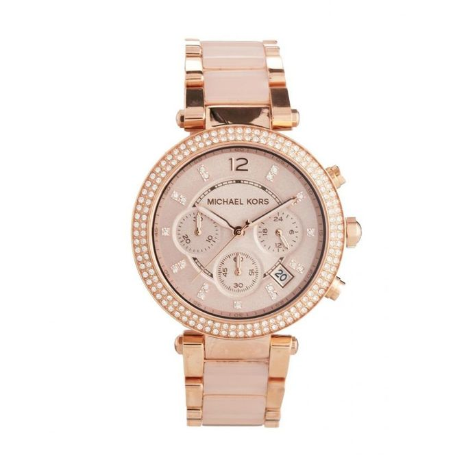 b4e1a7c1199ac MK5896 Stainless Steel Watch - Rose Gold - Jumia مصر