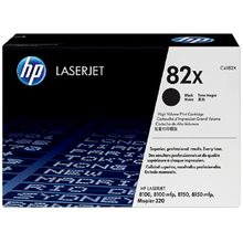 HP 82X High Yield Black Original LaserJet Toner Cartridge