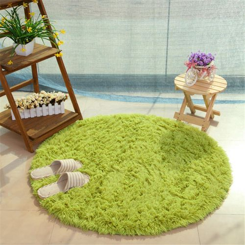 Anti-slip Floor Mats and Rugs Washable Sofa Yoga Mat Soft Bedside Footcloth Absorbent Carpets for Bedroom Durable Kids Crawling Pad Cushion light green