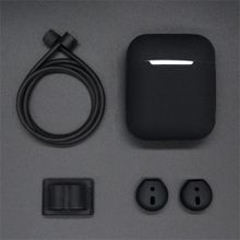 e580b776c9a5f Xiuxingzi For Apple AirPods Accessories Silicone Cover Case+Anti Lost  Strap+Ear Cover Hook