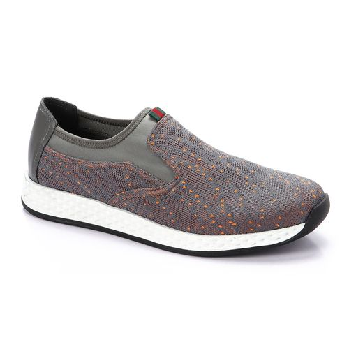 Slip On Sports Shoes - Grey