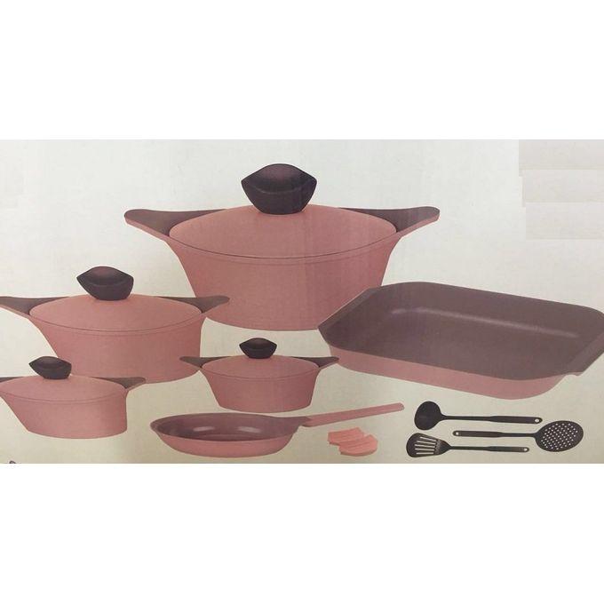 Ceramic Cookware Set – 15 Pcs –  مصر