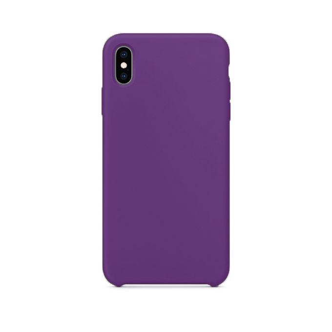 new arrival 039a2 1efc1 Iphone XS Max Silicone Case With Micro Fiber Lining - Lavender Purple