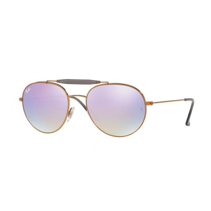 b3938904024ec ... Ray-Ban Copper RB3540 198-7X Shiny Bronze Lilac Gradient Flash ...