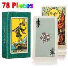 8f0680734 1 Set of 78pcs Tarot Deck Cards Smith Waite Tarot English Full Version Card  Game