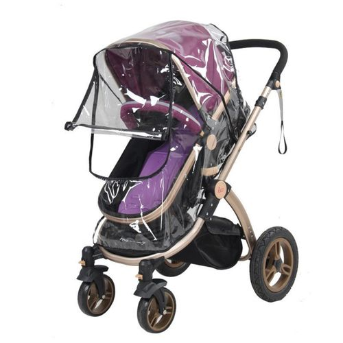 9bf7b9fef216 High Quality Baby Stroller Cover Universal Waterproof Rain Cover Dust Wind  Shield Stroller Accessories Pushchairs Buggys