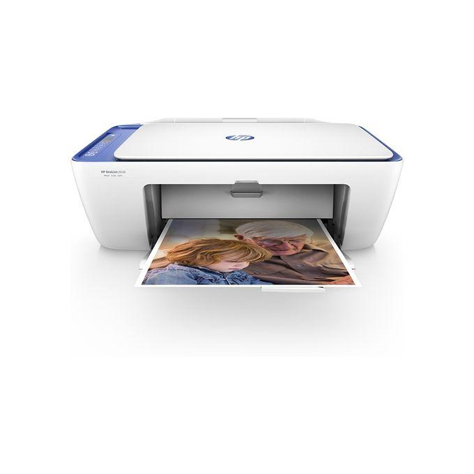 طابعة HP DeskJet 2630  المتكاملة بخاصية الإتصال اللاسلكي