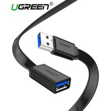 0.5Meter USB 3.0 Cable Flat Extension Cable Male To Female Data Cable USB 3.0 Extender