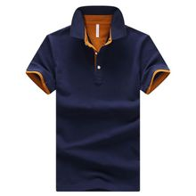 ba42a7f0 Men's Polo Shirt Summer Short-sleeved Polo Shirt Breathable Casual  Cotton
