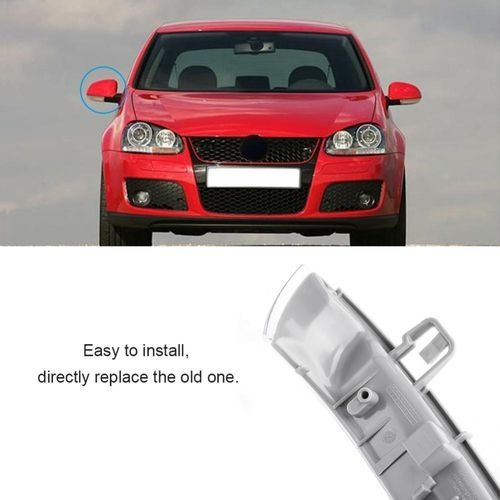 Sale On Left Side Wing Mirror Indicator Turn Signal Bulb For Vw Mk5