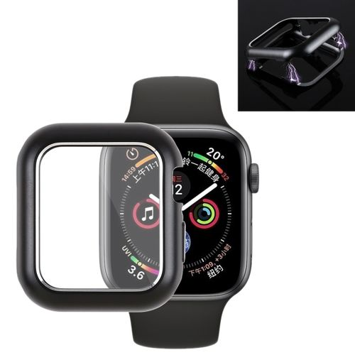 premium selection 11a3d e5754 Magnetic Metal Frame Protective Case For Apple Watch Series 4 44mm (Black)
