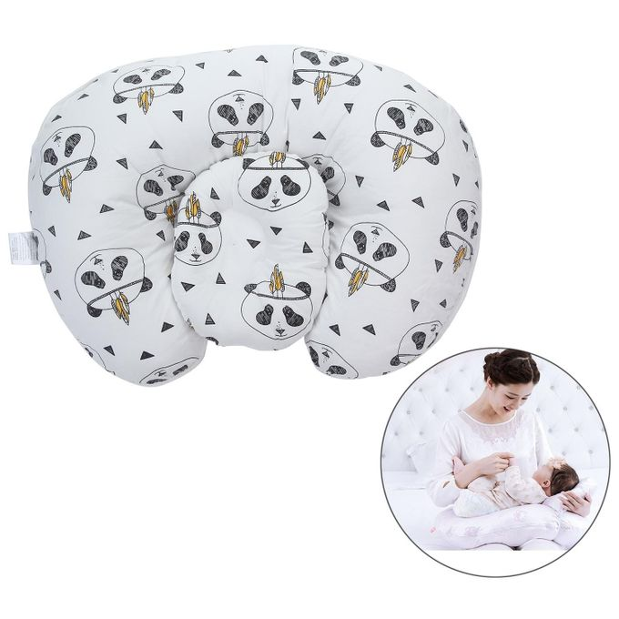 Baby Nursery Pillow For Maternity Protect Waist /supporting Side-lying /Breastfeeding ,Panda Style –  مصر