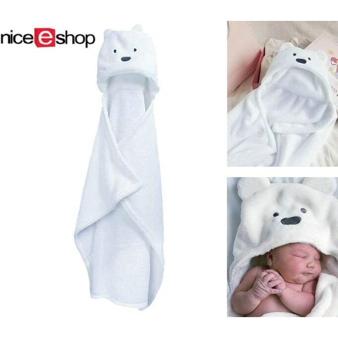 3D Bear Baby Infant Newborn Hooded Bath Towel Blankets –  مصر