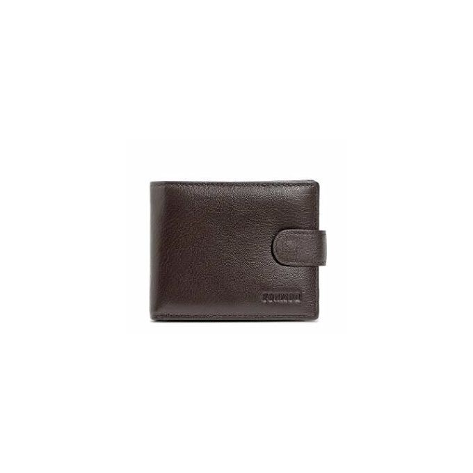 Anti-RFID Wallet Leather Buckle Foreign Trade Men Short Paragraph  Anti-theft Radiation Wallet 63f859bfd45e4