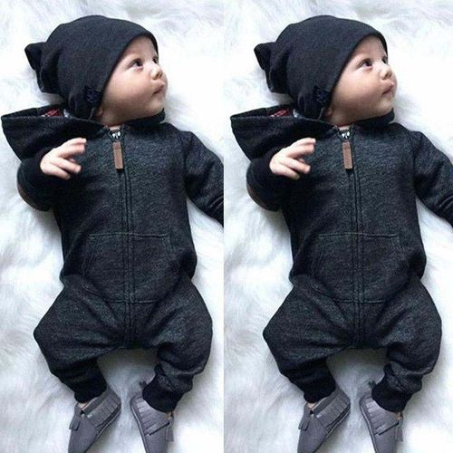 4b5964d59 Sale on New ArrivelHot Newborn Baby Infant Boy Girl Romper Hooded ...