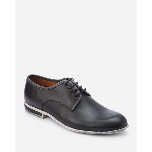 حذاء جلد ديربي - أسود