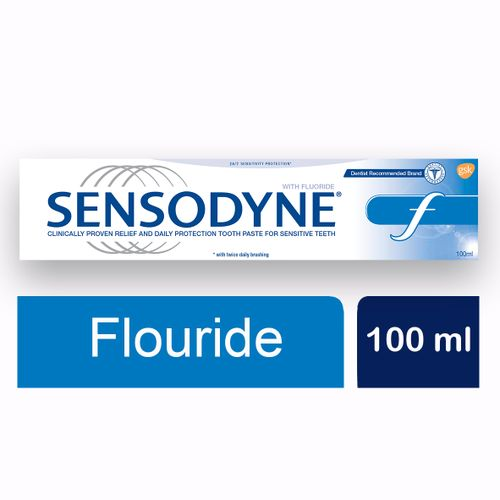 Fluoride Toothpaste For Sensitive Teeth - 100 Ml