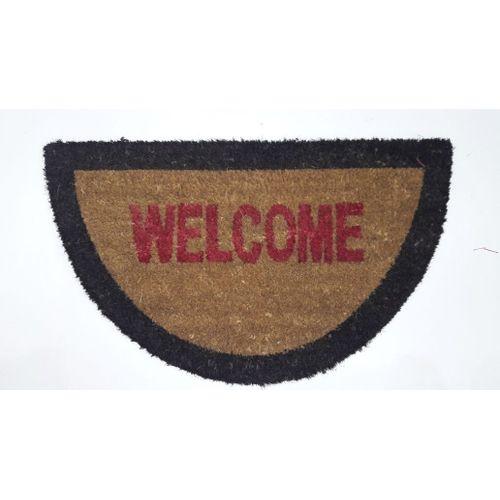 Welcome Outdoor Rug - 75 Cm - Multicolor