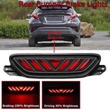 fb737bc1a6cde Red LED Rear Bumper Light Tail Brake Light Fog Light For Toyota CHR  2016-2018