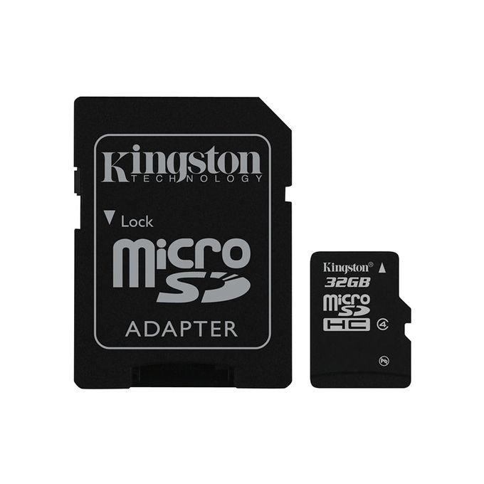 بطاقة MicroSDHC 32 جيجا بايت – Class 4 –  مصر