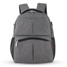 Baby Diaper Backpack Multifunctional Mommy Bag Nappy Changing Mummy Backpack  HOT Grey 335a9353693e3