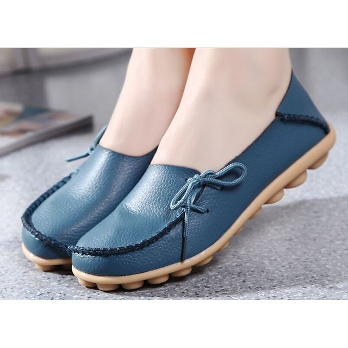 ce29c95d340 Ladies Women Casual Flats  Oxfords Loafers Slip On Moccasin Ballet Boat  Shoes