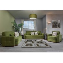 Tolido Living Room Set - Green