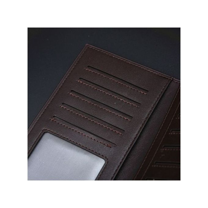 ac68d46eb9a6d Generic Man Wallet Leather Concise Money Bag Huge Capacity Purse Card  Holder CO