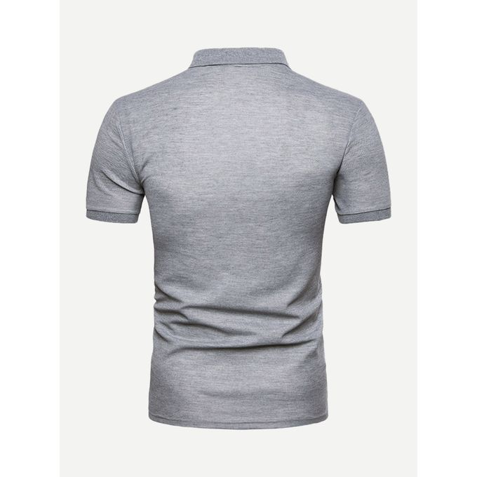 d6bdc9317e Sale on Men Cut And Sew Panel Polo Shirt | Jumia Egypt