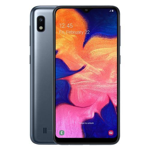 موبايل سامسونج جالكسي موبايل سامسونج جالاكسي Samsung موبايل جالاكسي A10 ثنائي الشريحة  6.2 بوصة  32 جيجا -4G - أسود