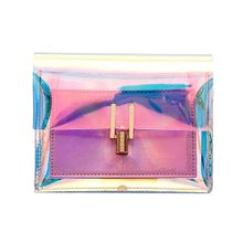 7e04807bd74e1 Fashion Women Laser Transparent Crossbody Bags Messenger Shoulder Bag Beach  Bag