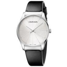 99ba1ab14 Calvin Klein Womens Analogue Quartz Watch with Leather Strap K4D211C6
