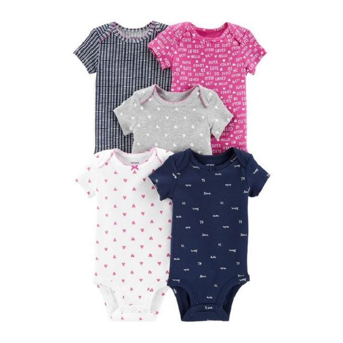 959a732fc Sale on 5-Pack Short-Sleeve Original Bodysuits | Jumia Egypt
