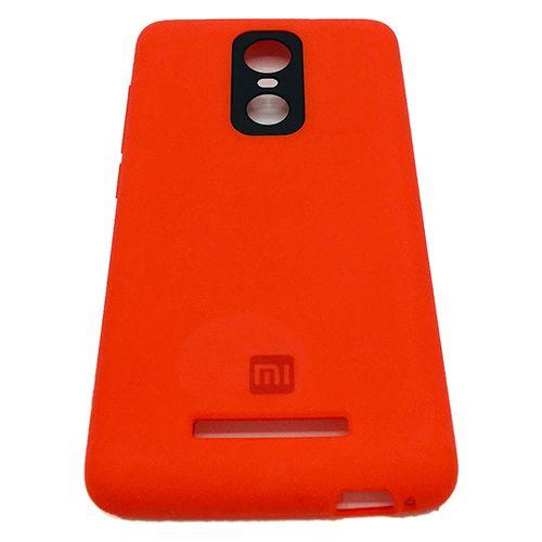 sale retailer 599f0 ed1ab Xiaomi Redmi Note 3 Silicone Case - Red