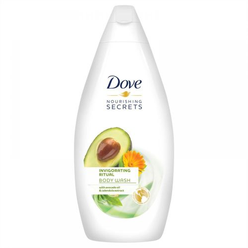 Invigorating Avocado Oil & Calendula Extract Body Wash - 500ml