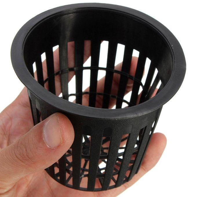 8pcs Mesh Pot Net Basket Hydroponic Aeroponic Clone Flower Plant Grow Pot Cup Home Black –  مصر