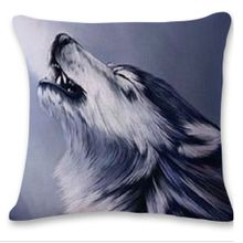 ef807d1c47d Cute Wolf Tower Sofa Bed Home Decoration Festival Pillow Case Cushion Cover
