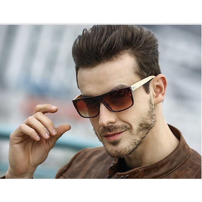 5e2faa5c35bb Hot New Fashion Men's Sunglasses / Sunglasses Bamboo Legs Bamboo Leg Glasses -umber