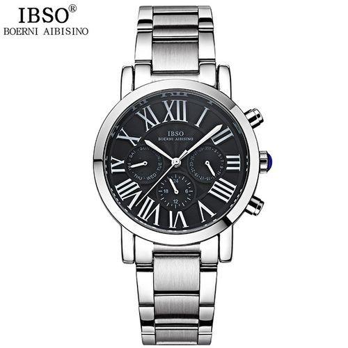 IBSO-3960SS-Black Stainless Steel Men Ca... - (999)