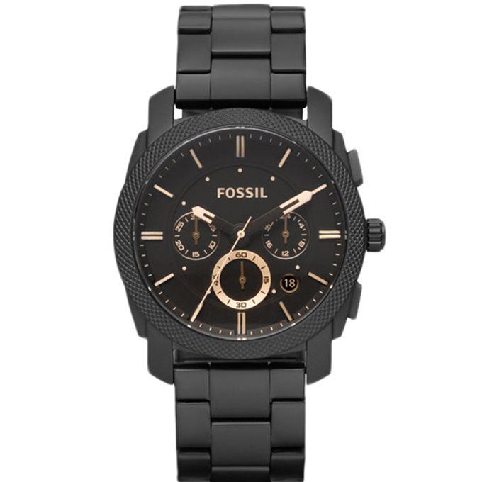 4c8d507727b58 Fossil Machine Chronograph Black Dial Men s Watch - FS4682 - Jumia مصر