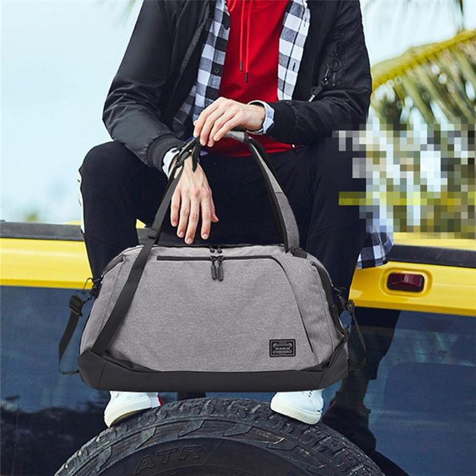 5a6fd3fe732bb3 Men Multifunction Foldable Travel Backpack Duffel Holdall Rucksack Gym  Sport Bag Men Women Luggage Travel Bag