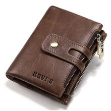 New Arrivel Genuine Leather Coin Purse Male Wallet