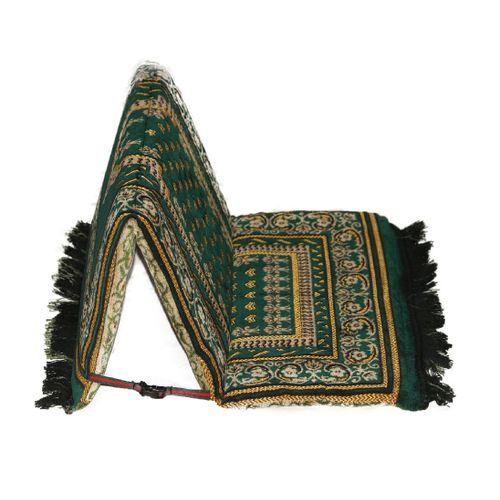 Two Sided Medical Prayer Rug With A Back Brace