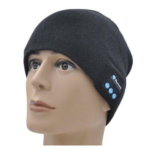c49d5f41e5d Sale on Ice Cap Beanie with Built-in Removable Headphones - Black ...