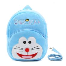 984e90264bb11 Cute Cartoon Kids Plush Backpack Toy Mini School Bag With Anti-lost Leash  -blue