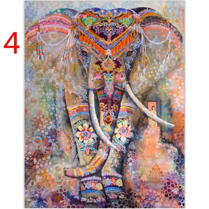 Indian Decor Mandala Tapestry Wall Hanging Hippie Throw Bohemian Dorm Bedspread Table Cloth Curtain Style Orange Elephant –  مصر