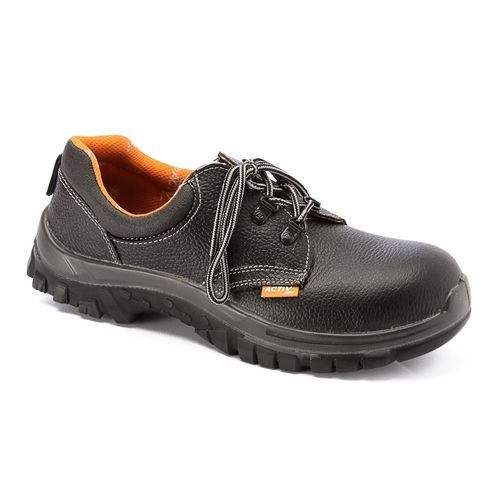 Leather Safety Shoes - Black