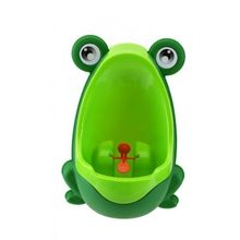 Frog Potty Training Urinal for Boys with Removable Compartment - Green