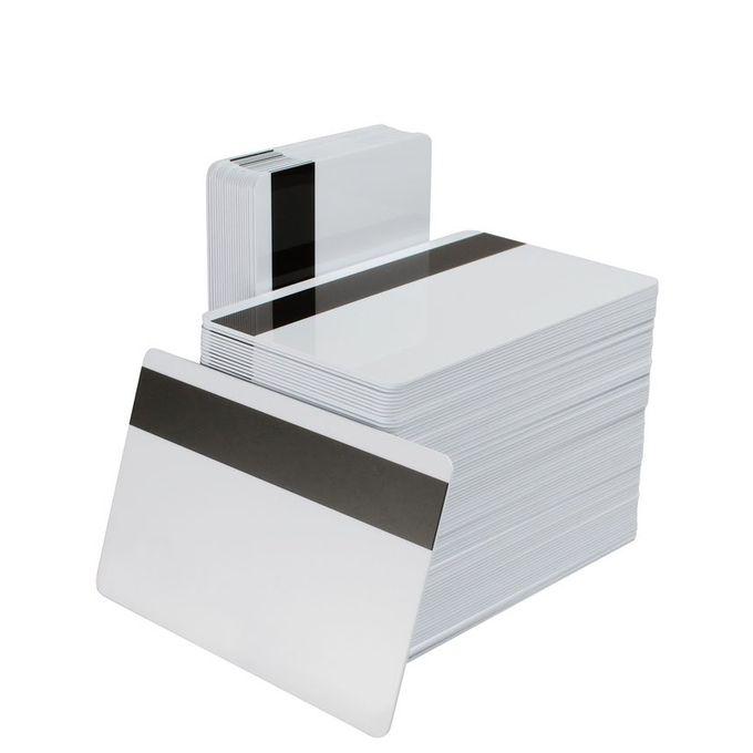 بطاقات بلاستيك بشريط مغناطيسى بيضاء للطباعة – عبوة 250 بطاقة –  مصر