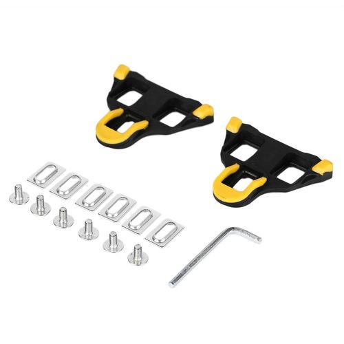 71ece10b4 Generic Self-locking Cycling Pedal Road Bicycle Cleat For Shimano SM-SH11  SPD-SL (Yellow)